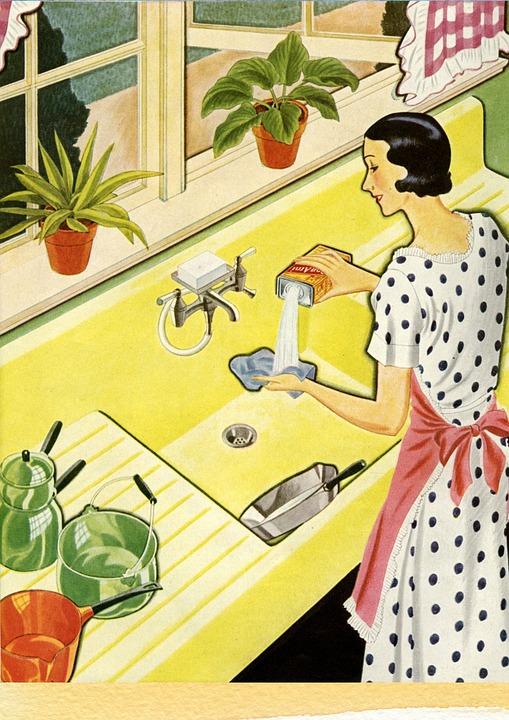 Le nettoyage de la cuisine pour une santé meilleure