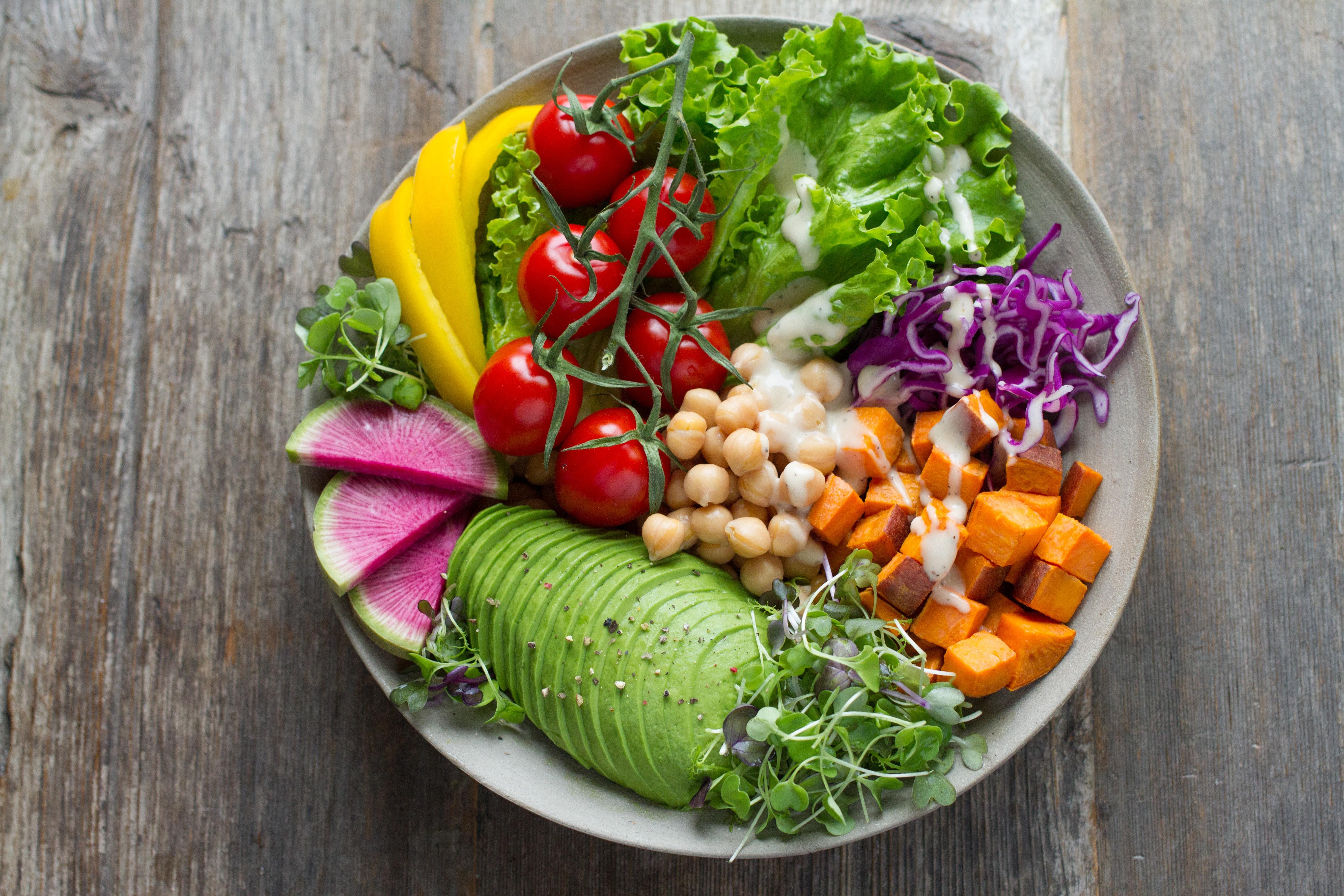 Les bienfaits d'une alimentation vegan